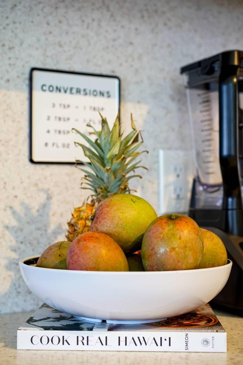 bowl of mangos