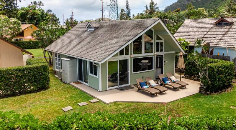 oahu oceanfront cottage