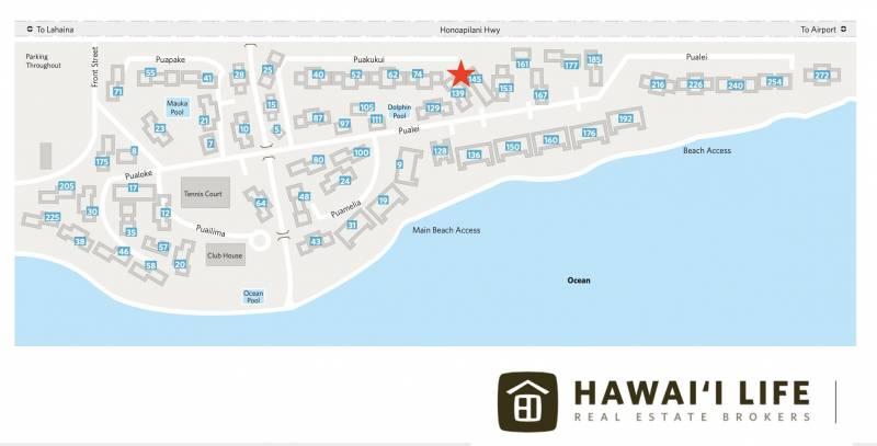 puamana hawaii life condo map
