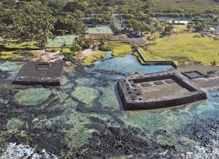 Hapaiali'i and Ke'eku Heiau hawaii historic sites