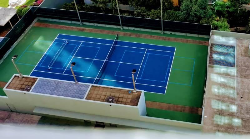 nauru tower tennis courts